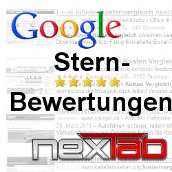 Stern-Bewertungen bei Google