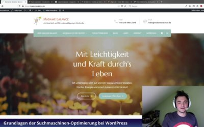Video-Tutorial: Grundlagen der Suchmaschinen-Optimierung in WordPress